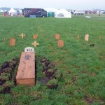 Friedhof gabs auch..
